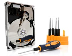 hard drive recovery, installation, troubleshooting